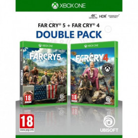 Compilation Far Cry 4 + Far Cry 5 Jeux Xbox One