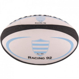 GILBERT Ballon de rugby REPLICA - Racing 92 - Taille Mini