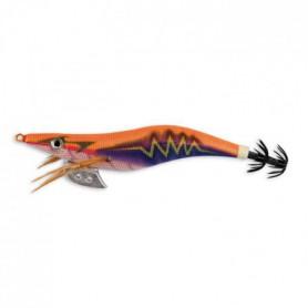 LINEAEFFE Turlutte Thunder Squid Jig - Orange et bleu - 3,5