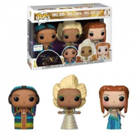 3 Figurines Funko Pop! Disney - Un raccourci dans le temps