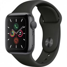 Apple Watch Series 5 GPS 40 mm Boitier en Aluminium Gris Sidéral
