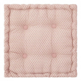 ATMOSPHERA Coussin de sol Otto - Rose - 40x40x8 cm