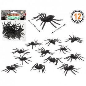 ATOSA - Lot de 12 Araignées