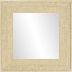 Miroir Ds - MDF - 46x46 cm - Beige