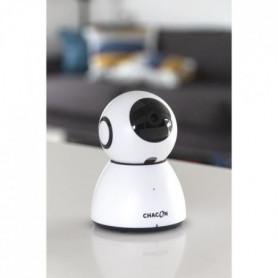 CHACON  Caméra IP Wi-Fi rotative intérieure - 1080P