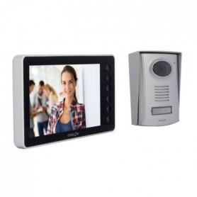 CHACON Videophone 2 fils 7'' - Noir