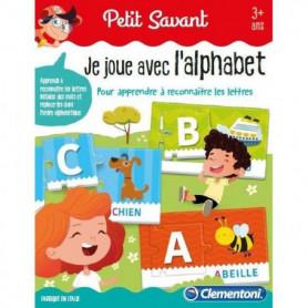 CLEMENTONI Petit Savant - Je joue avec l'alphabet
