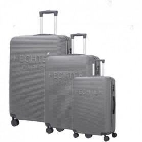 DANIEL HECHTER Set de 3 Valises Trolley Rigide ABS Gris