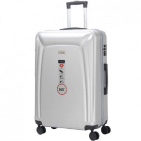 DANIEL HECHTER Valise Trolley DHVBERLIN - 8 Roues Argent
