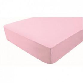 DOMIVA Drap-housse imperméable - Rose - 60x120 cm