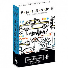 WADDINGTONS N°1 - Friends - Jeu de 54 cartes