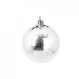 AUTOUR DE MINUIT Set de 8 boules brillantes - Ø5 cm