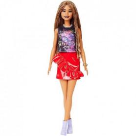 Barbie - Barbie Fashionistas Jupe Volant Rouge - 3 ans et +