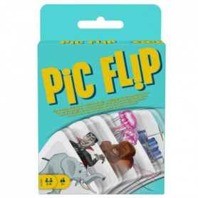 MATTEL GAMES Pic Flip - GKD70 - Jeu de Société - 7 ans et +