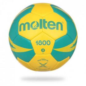 MOLTEN Ballon de Handball - Jaune et Vert 0 (- de 8 ans)