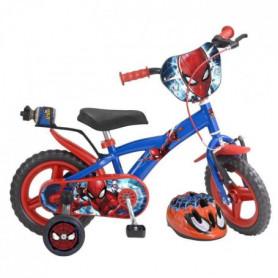 MARVEL Vélo enfant Spiderman 12 avec casque