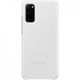 Clear View cover S20 Blanc