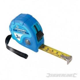 SILVERLINE Metre ruban Measure Mate