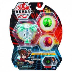 BAKUGAN Starter Pack - Modele 26 - 2 Bakugan classiques