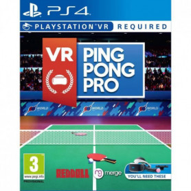 VR Ping Pong Pro Jeu PS4 VR Requis
