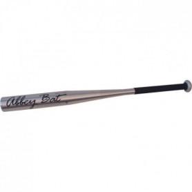 ABBEY Batte de baseball - 70 cm - Gris argenté