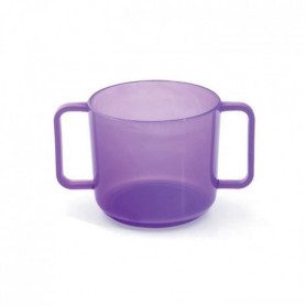 MILL'O BÉBÉ Tasse à anses micro-ondable Polypropylene violet