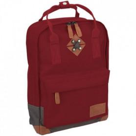 ABBEY Petit sac a dosen polyester 300T Rouge Corail