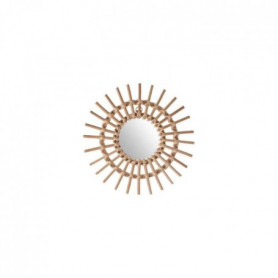 ATMOSPHERA Miroir rotin Soleil - D30 cm