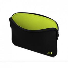 Housse pour MacBook Air/Pro 13 - LA Robe Addited Black/Wasabi
