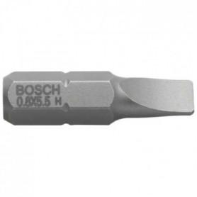 BOSCH Embout pour vis à fente 8 mm extra-dur - Forme E 6.3