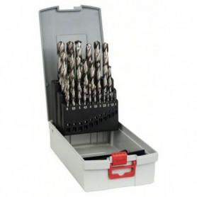 Assortiment ProBox de forets a métaux rectifié HSS-G, 1-13mm