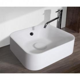 MITOLA Vasque carré Capri 38x38 cm blanc mat