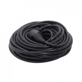 CHACON Prolongateur HO5VVF 3 x 1,5 mm² 20 m - Noir