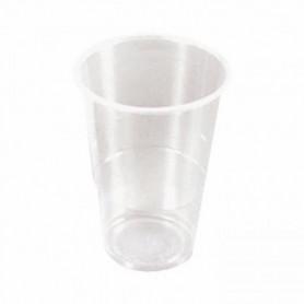 Lot 50 gobelets à biere jetables 33cl blanc
