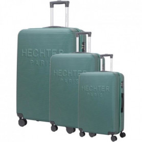 DANIEL HECHTER Set de 3 Valises Trolley DHVDEAUVILLE 50-60-70 cm - Vert