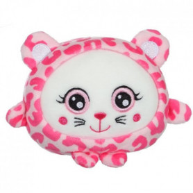 GIPSY - peluche squishimals 10 cm guépard rose Pinky
