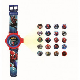 SPIDER-MAN Montre digitale avec projection de 20 images