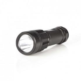 NEDIS Lampe torche a LED - 5 W - 280 lm - IPX7 - Noir