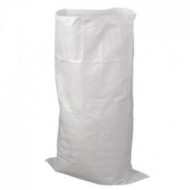 NATURE Sac a déchets matériaux bati - Blanc - 60 l - H100xØ60cm