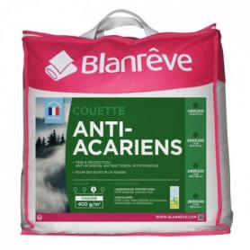 BLANREVE Couette chaude 400gm2 Anti-Acariens 240x260 cm