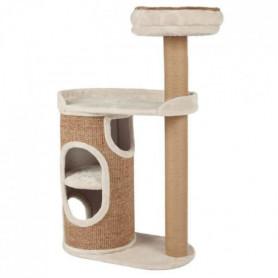 TRIXIE Arbre à chat Falco - Gris clair et brun - Pour chat