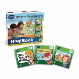 VTECH - 488805 - Magibook - Pack de 3 livres d'histoire