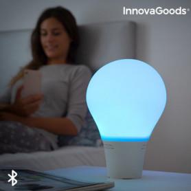Lampe Ampoule LED Tactile en Silicone avec Haut-Parleur Silitones