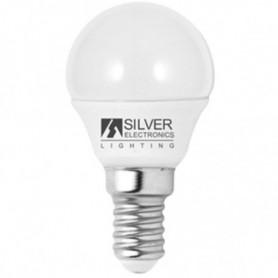 Ampoule LED Sphérique Silver Electronics Eco E14 5W Lumière blanche