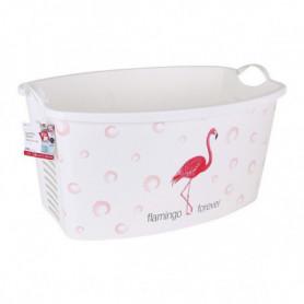 Panier à linge Flamingo Forever 42 L (59 X 39 x 31 cm)