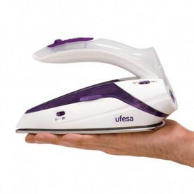 Fer à repasser Vapeur-Sec de Voyage UFESA PV0500 75 g/min 1100W Blanc
