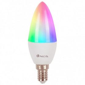 Ampoule à Puce NGS Gleam514C RGB LED E14 5W
