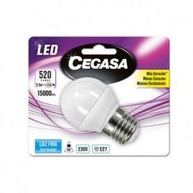 Ampoule LED Sphérique Cegasa E27 5,5 W A+