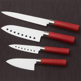 Couteaux Santoku avec Revêtement en Céramique Cecotec (ensemble de 4)