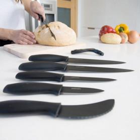 Couteaux en Céramique Professionnels Cecotec Titanium (7 pièces)